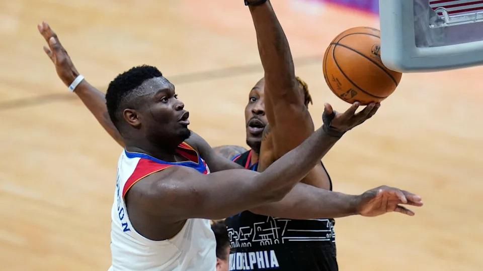 Zion Williamson imparable mientras los Pelicans de Nueva Orleans superan a los 76ers de Filadelfia